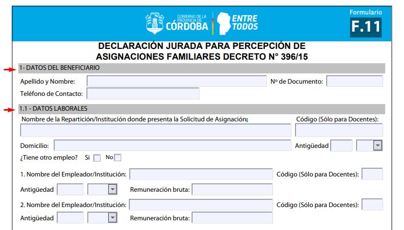 imprimir formulario anses f11