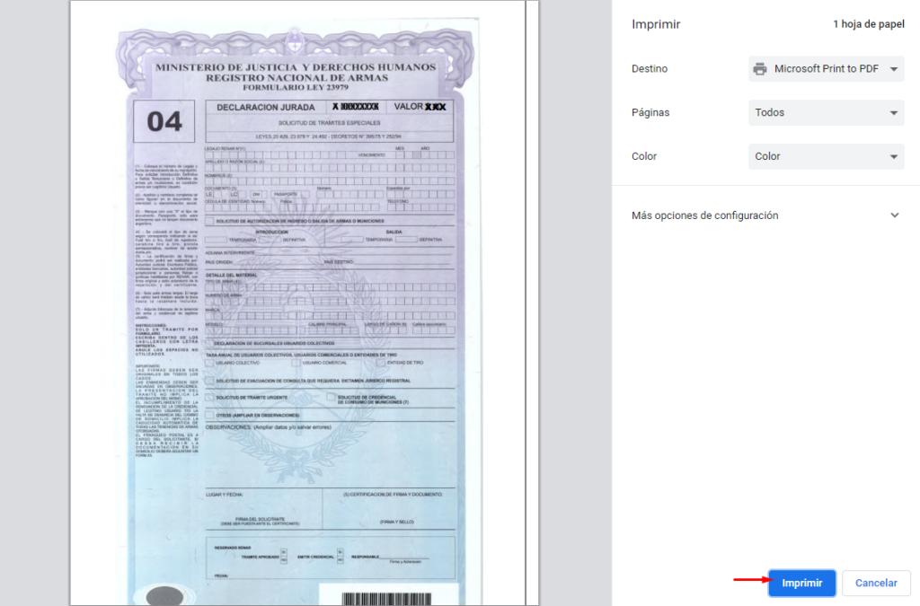 formulario 04 el automotor como descargar